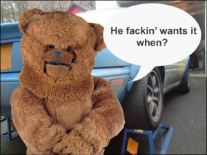 Bungle - Now an 'Auto technician'