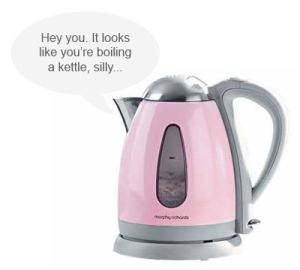 Can't deny the obvious kettle