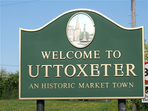 Uttoxeter sign