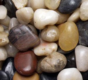 Some pebbles