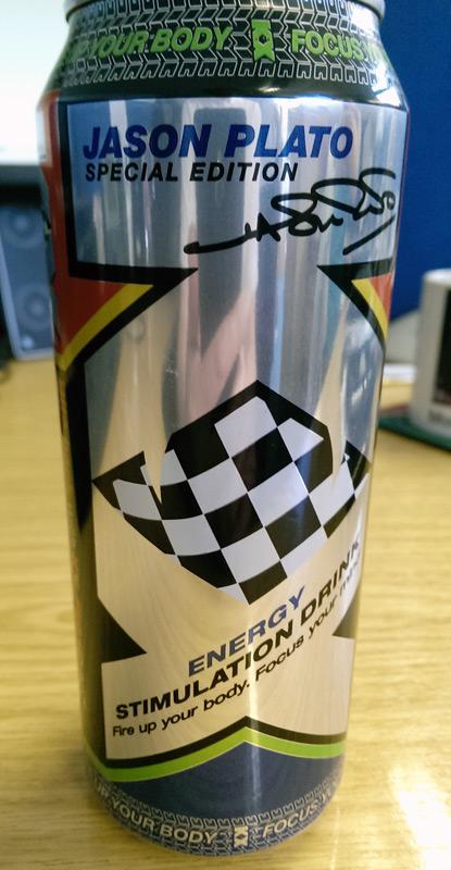 Plato energy drink