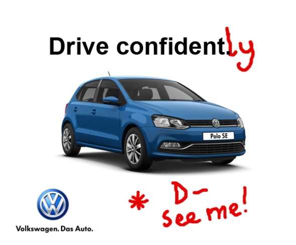VW campaign image